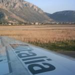 """Излитане от Палермо, летище """"Фалконе Борселино"""""""