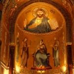 Палермо - Палатинският параклис в Двореца на норманите