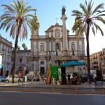 """Църква на улица """"Рома"""" в Палермо"""