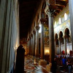 Интериор на катедралата в Монреале