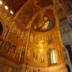 Апсидните мозайки с Христос Пантократор в катедралата на Монреале