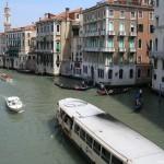 Вапорето - градският транспорт във Венеция
