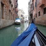 По каналите на дъждовна Венеция