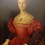 """Галерия """"Уфици"""" - Аньоло ди Козимо (Бронзино) –""""Портрет на Лукреция Панчатики"""""""