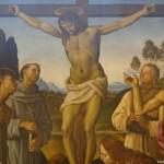 """Галерия """"Уфици"""" – Перуджино и Синьорели – """"Разпъването на кръста"""""""