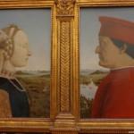 """Галерия """"Уфици"""" – Пиеро дела Франческа – """"Портрет на херцог Федерико да Монтефелтро и херцогиня Батиста Сфорца"""""""