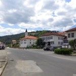 Центърът на село Могилица