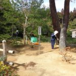 Метачи в Златния павилион в Киото