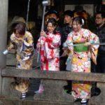 И, разбира се, прекрасните японки