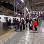 Японска опашка на гара Киото