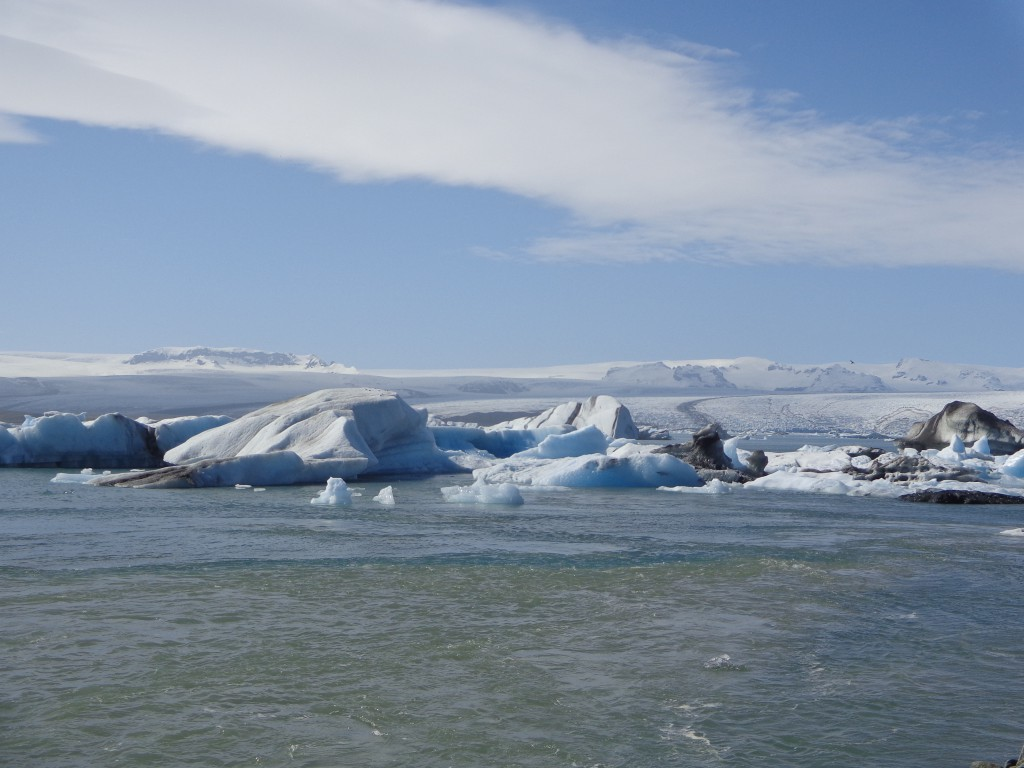 Вододел между сладката вода и прииждащата от юг солена океанска
