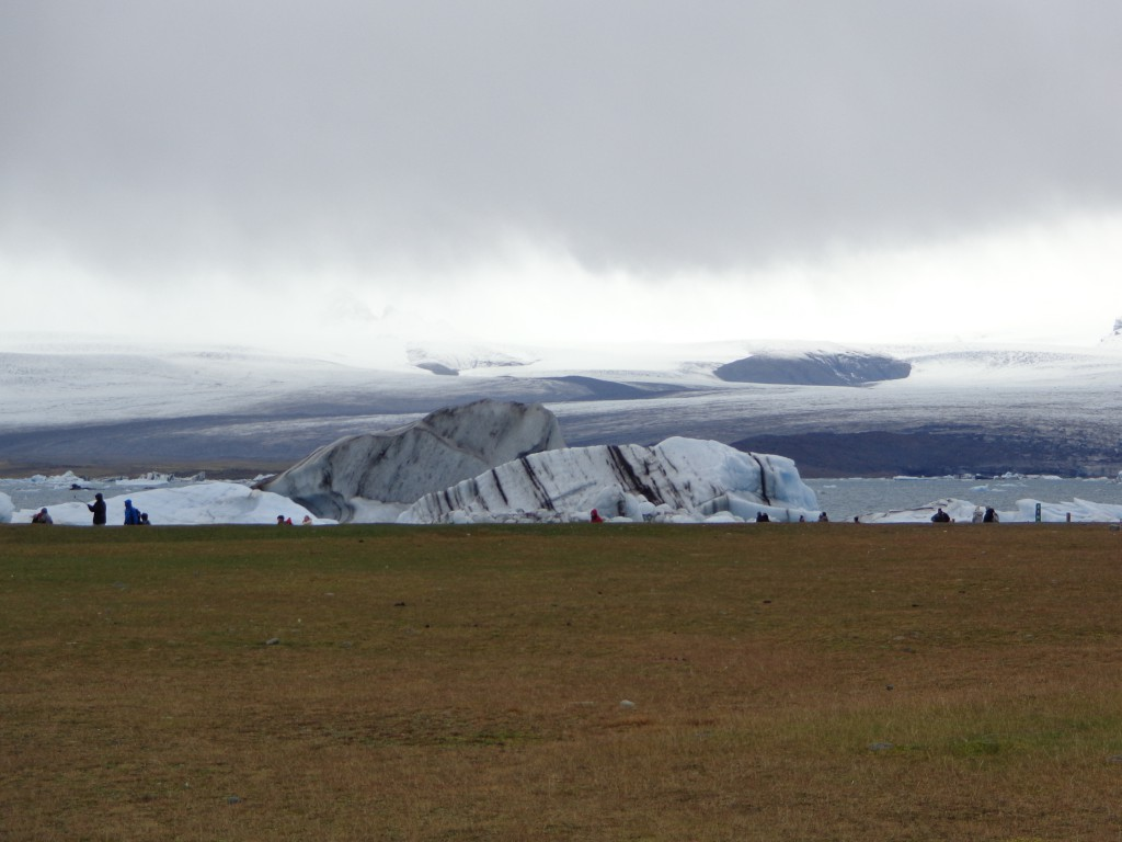 Ледникът Ватнайокутл и живописния му език Брейдамеркюрйокутл