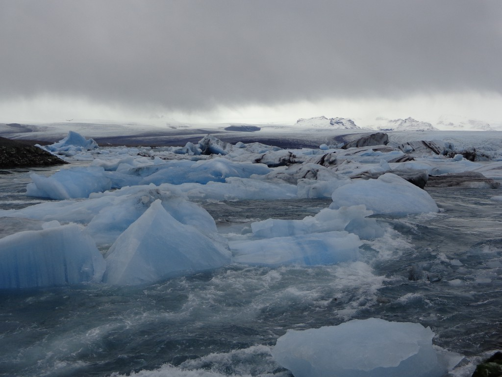 Ледниковото езеро Йокулсарлон