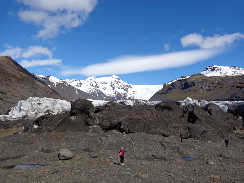 Фото-пауза при ледника Ватнайокутл