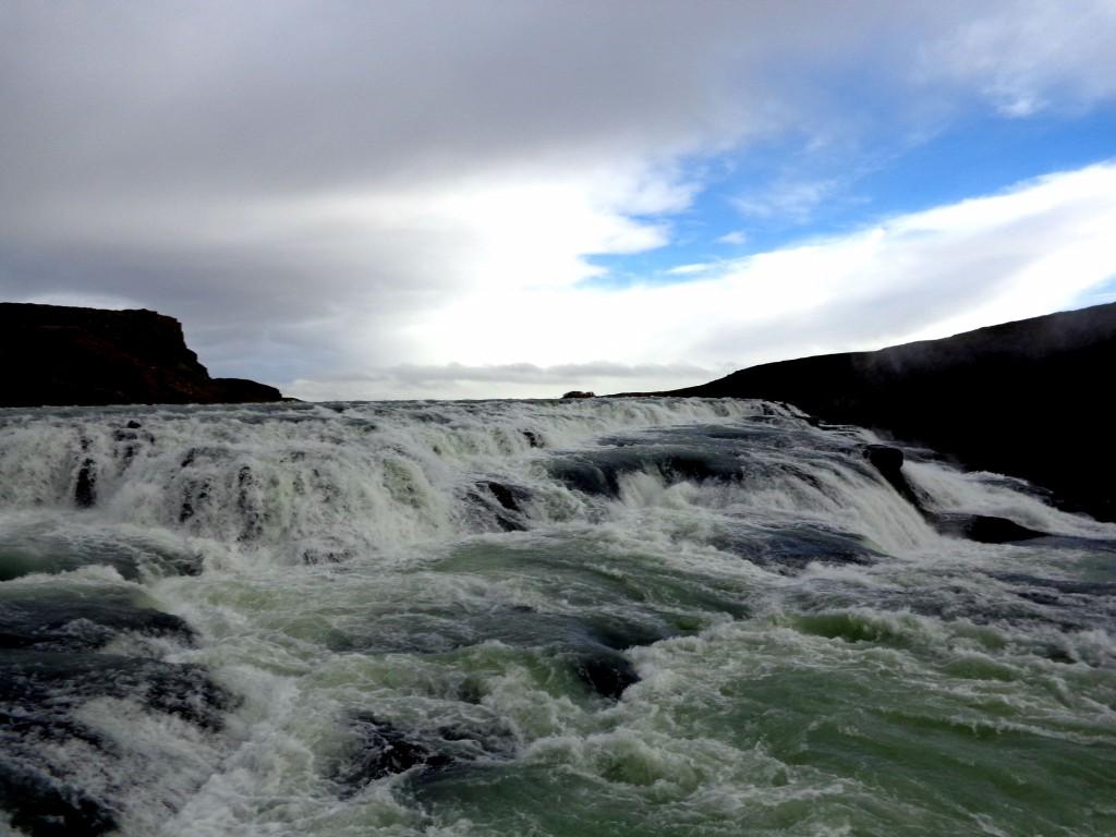 Гюдлфос - Златният водопад - горна каскада
