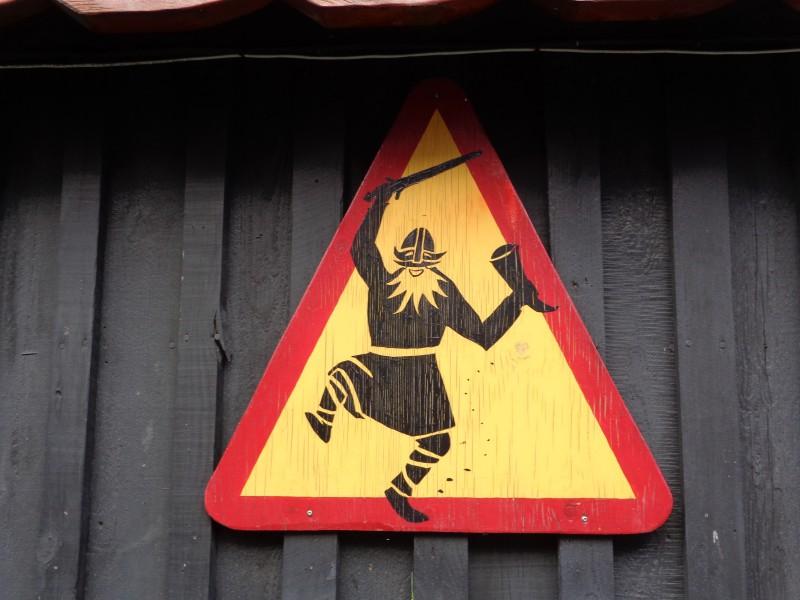 Шеговит знак в Хапнарфьордур