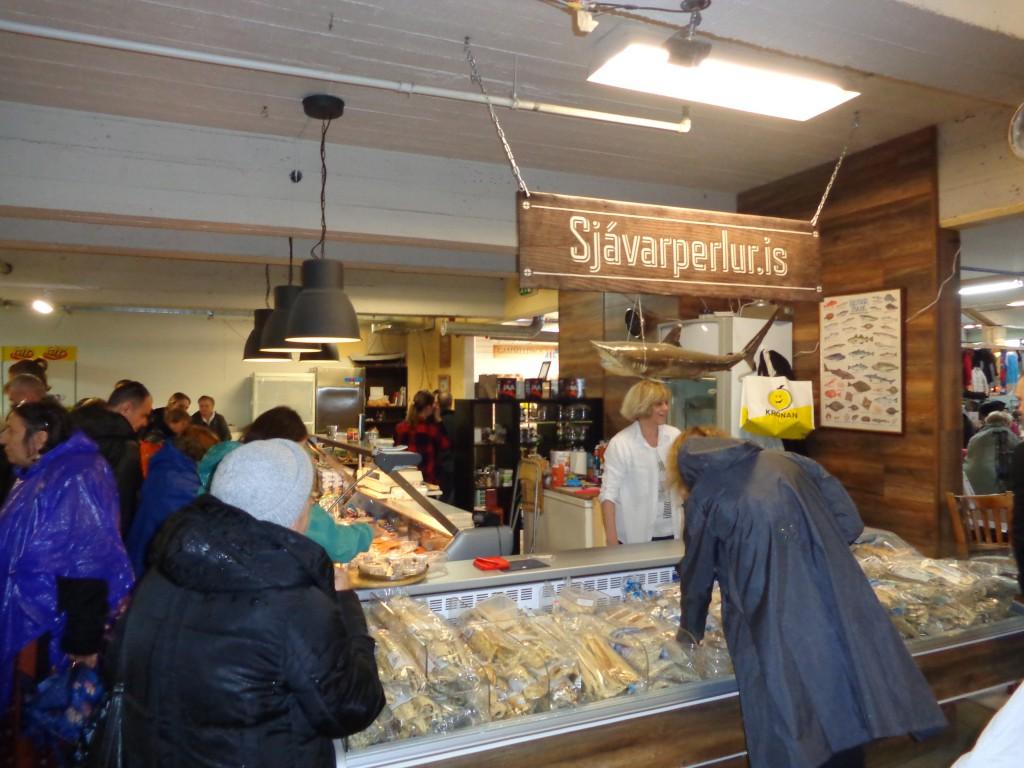 На пазар в Рейкявик