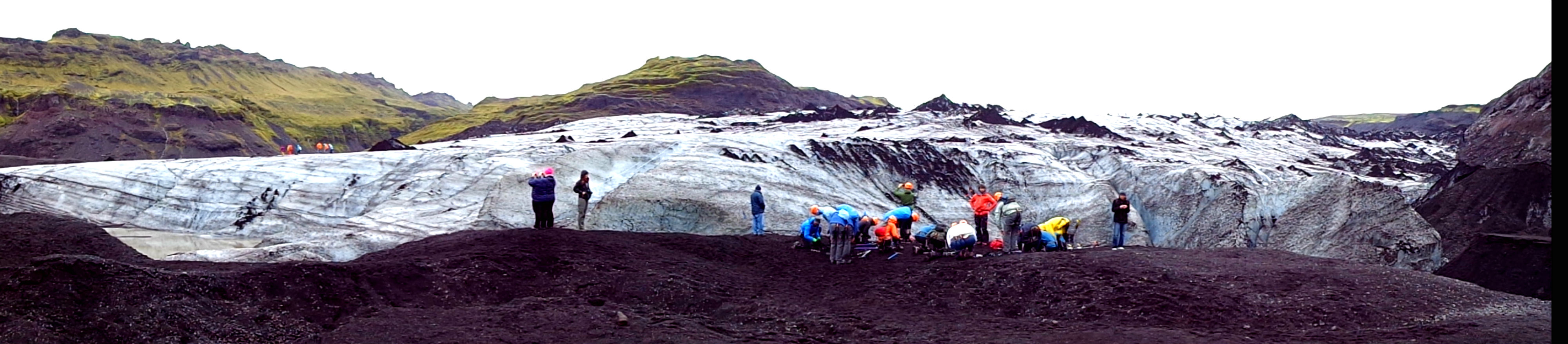 Четвъртият по големина ледник в страната - Мирдалсйокутл