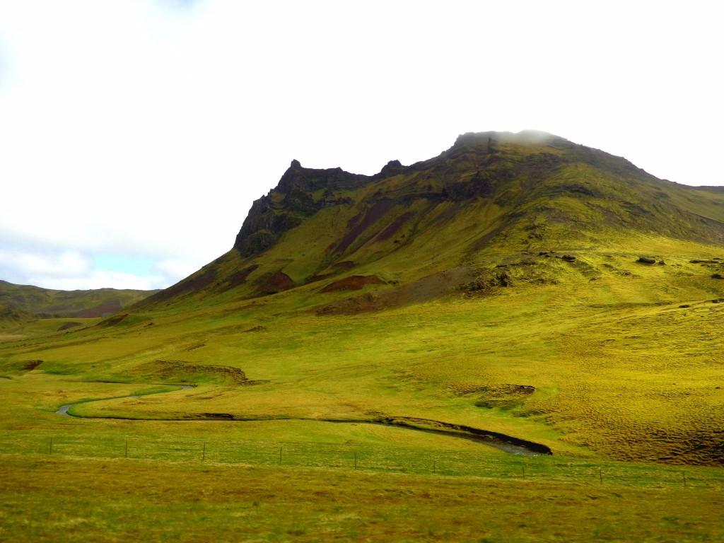Пейзаж от исландския Юг