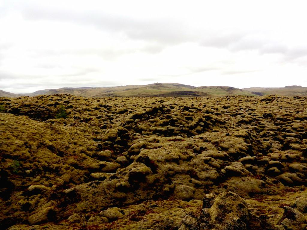 По лавовите поля на вулкана Лаки