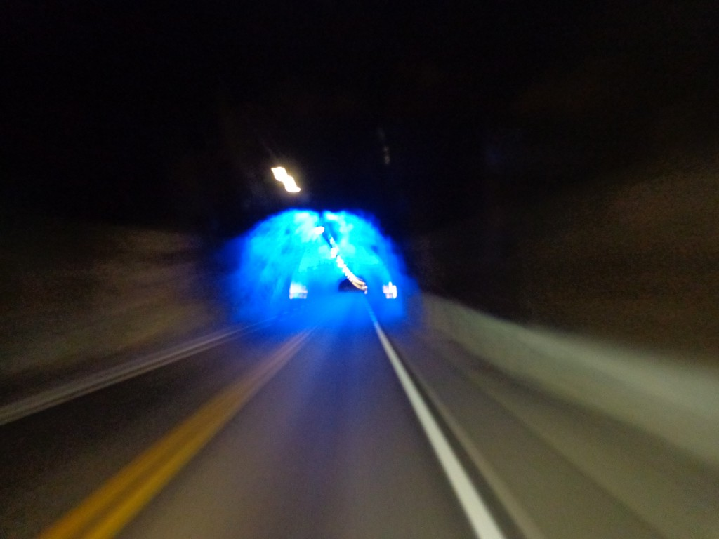 "В тунела ""Лаердал"" - Норвегия"