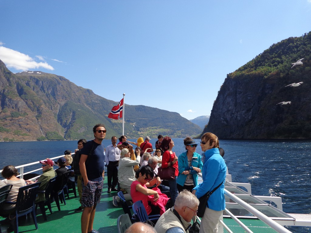 На ферибота Флом - Гудванген