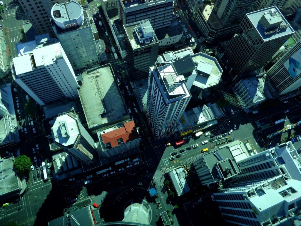 Окланд, поглед от Телевизионната кула
