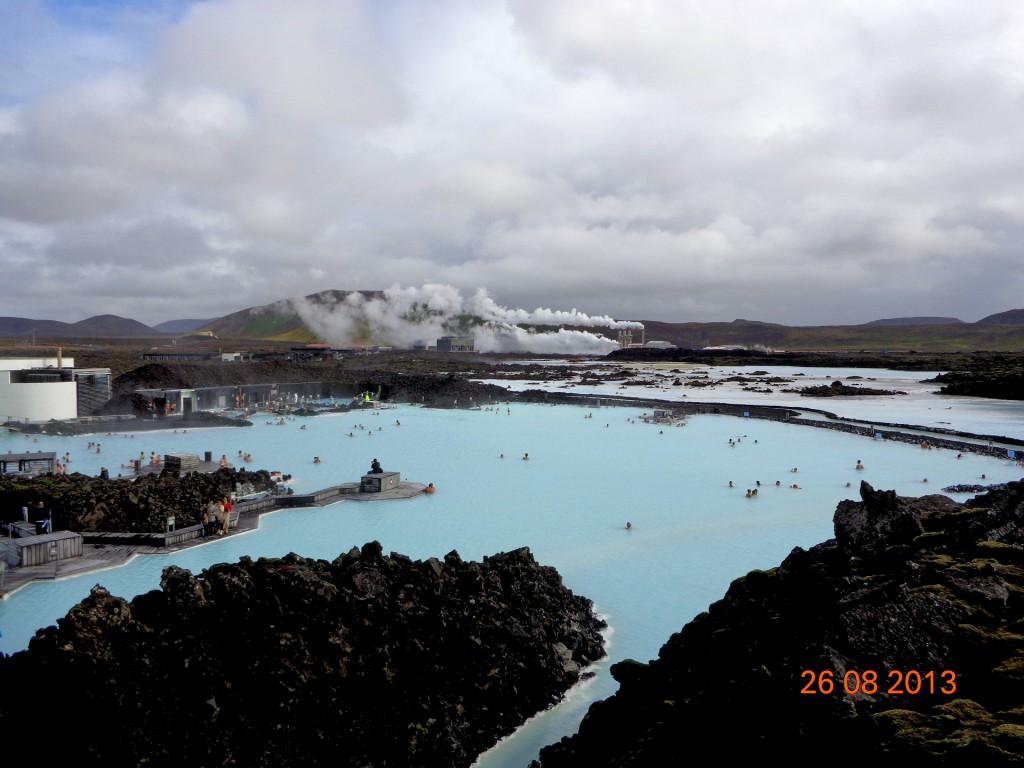 """Синята лагуна и геотермалната станция """"Свартсенги"""""""