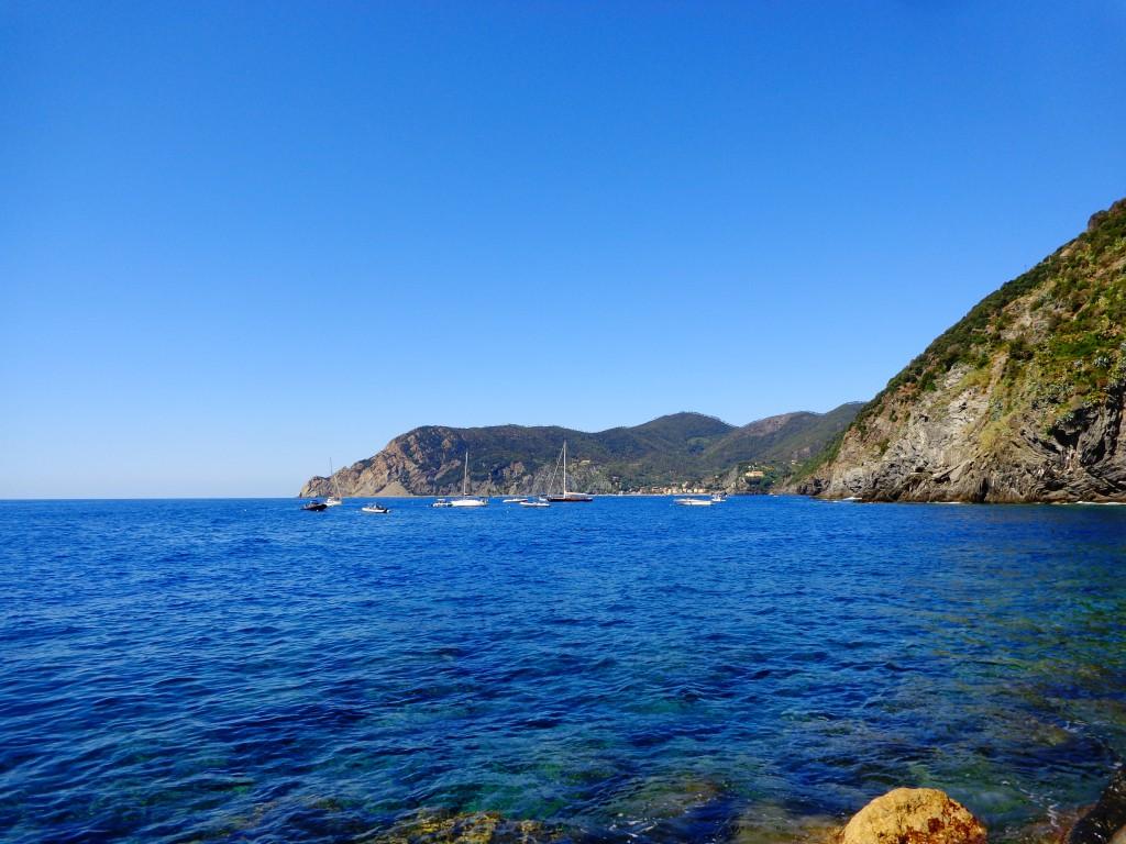 Чинкуе тере, Вернаца, Лигурско море