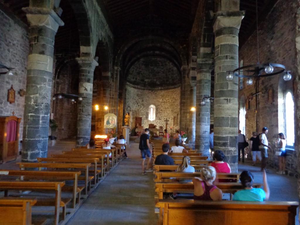 "Чинкуе тере, Вернаца, църква ""Света Маргарита Антиохийска"" - интериор"