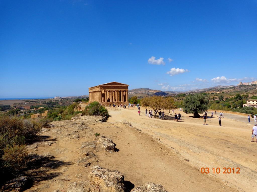 Агридженто, Долината на храмовете, храмът Конкордия