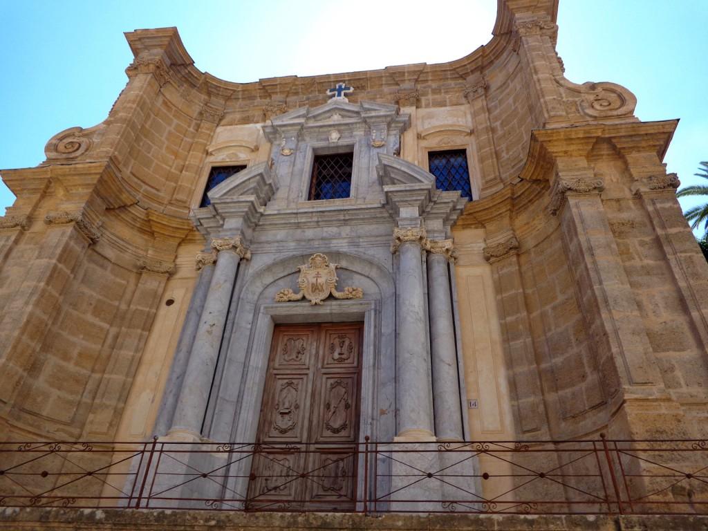 """Палермо, църква """"Санта Мария дел амиральо"""", наричана оше """"Ла Марторана"""""""