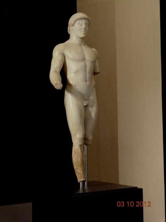 Агридженто, Археологически музей, курос