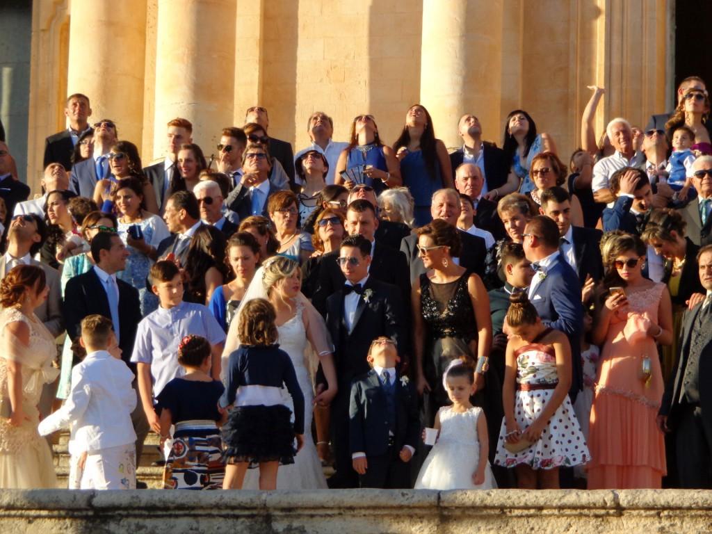 Сицилиански сватбари в Ното