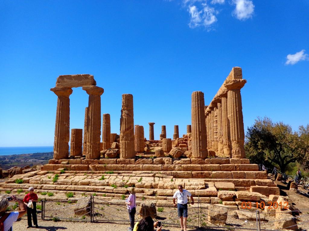Агридженто, Долината на храмовете, храмът на Хера