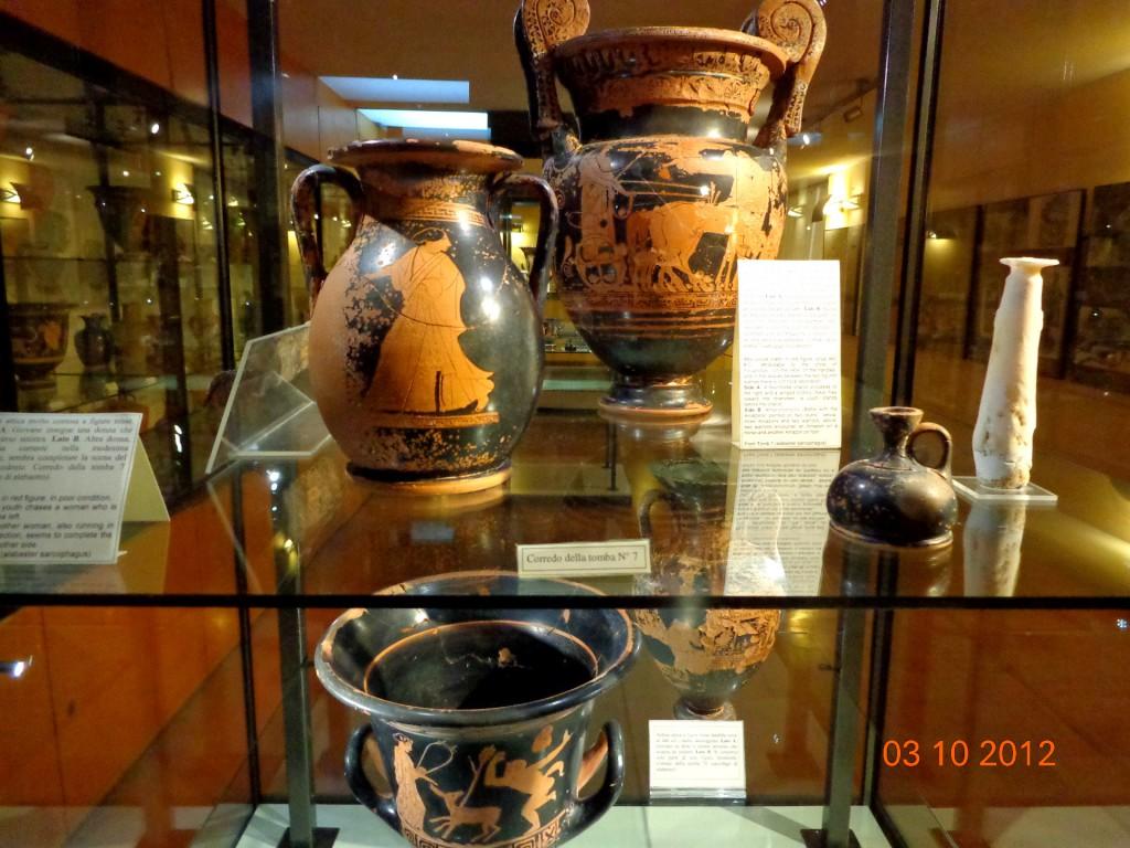 Агридженто, Археологически музей, старогръцка керамика