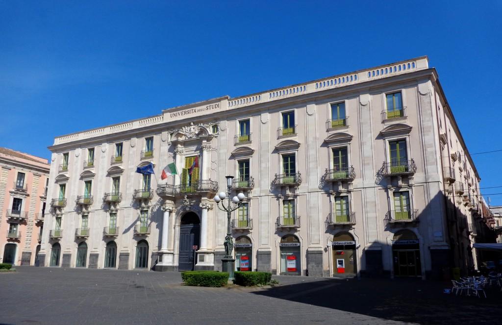 """Катания, Университета, помещаващ се в двореца """"Сан Джулиано"""""""