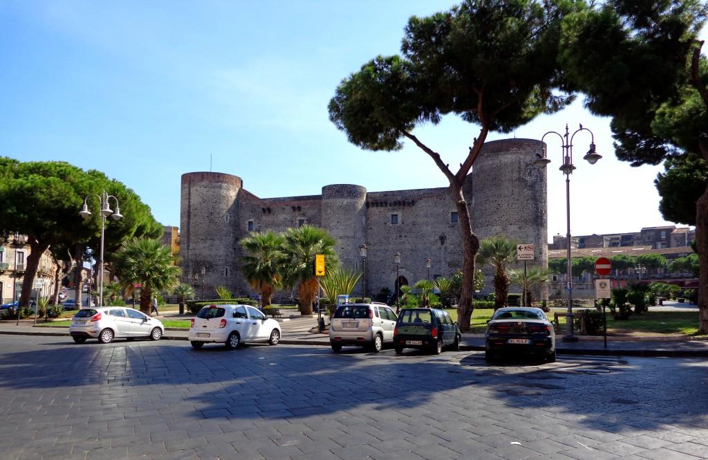 """Катания, замъкът """"Урсино"""""""