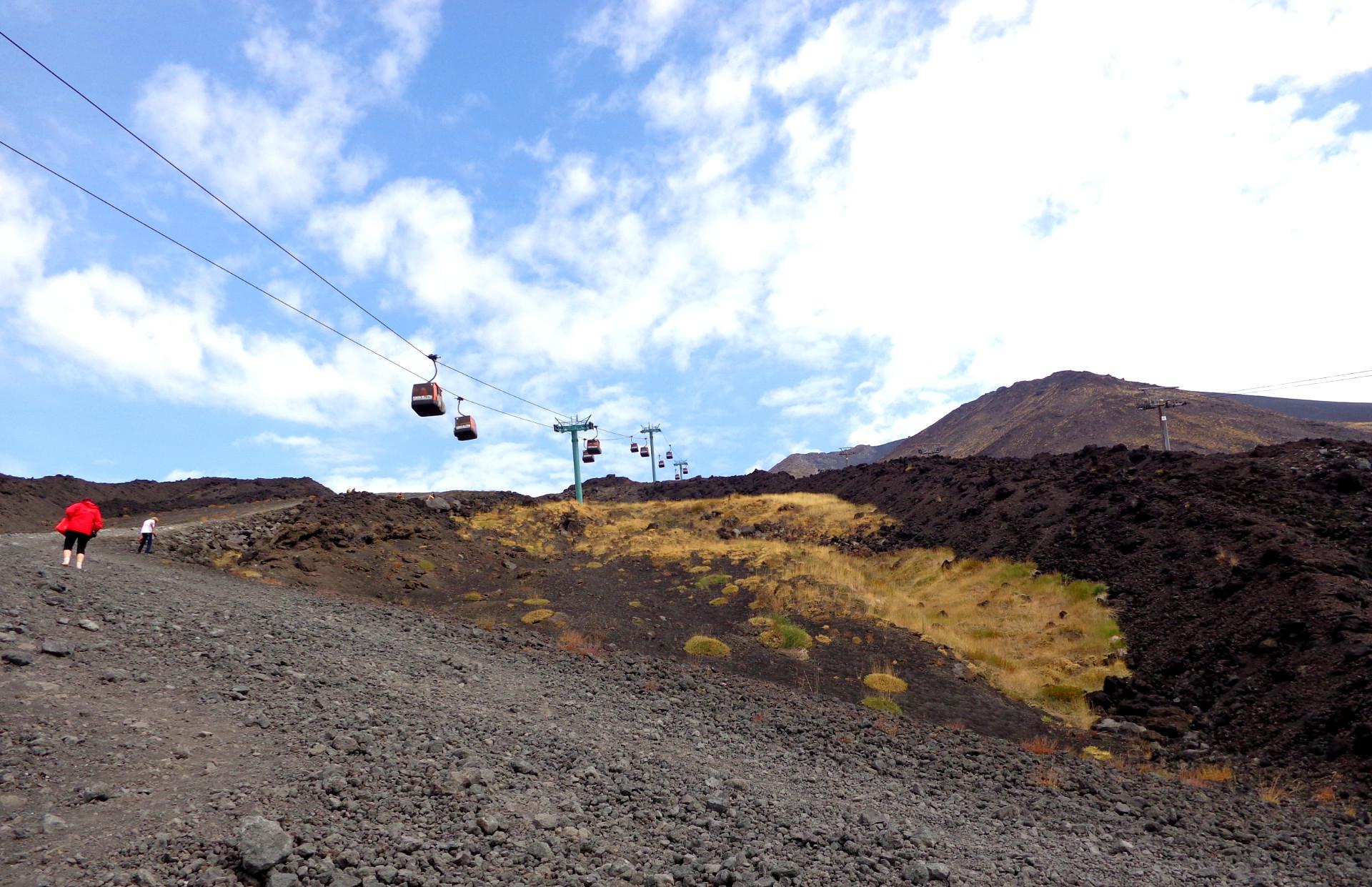 Южната страна на Етна