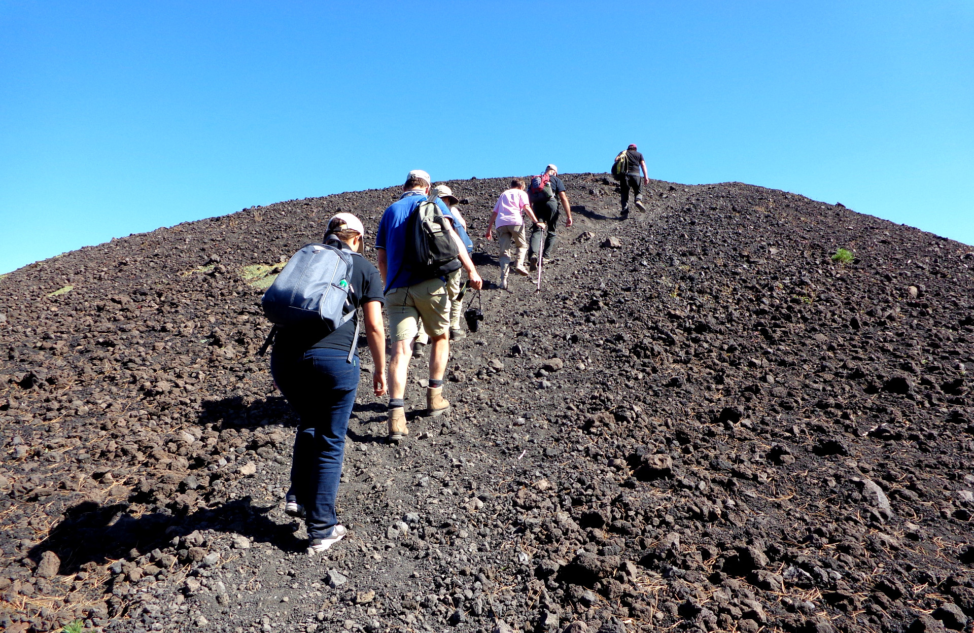 Трекинг по Етна
