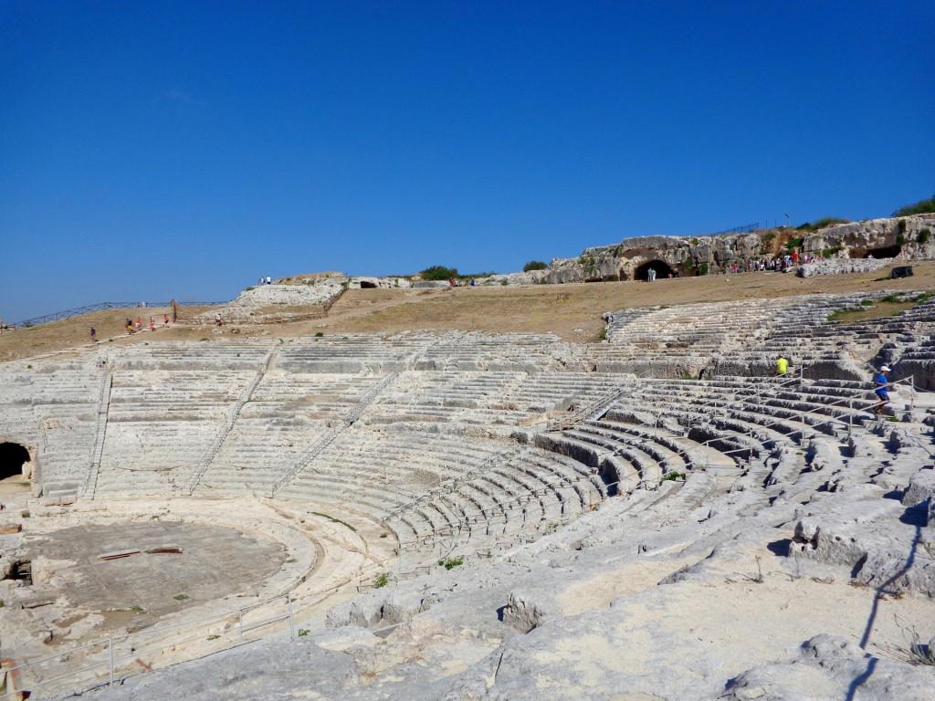 Сиракуза, археологически парк Неаполис, гръцкият театър