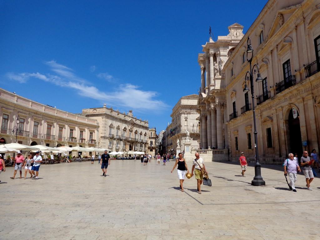 Сиракуза, катедралният площад