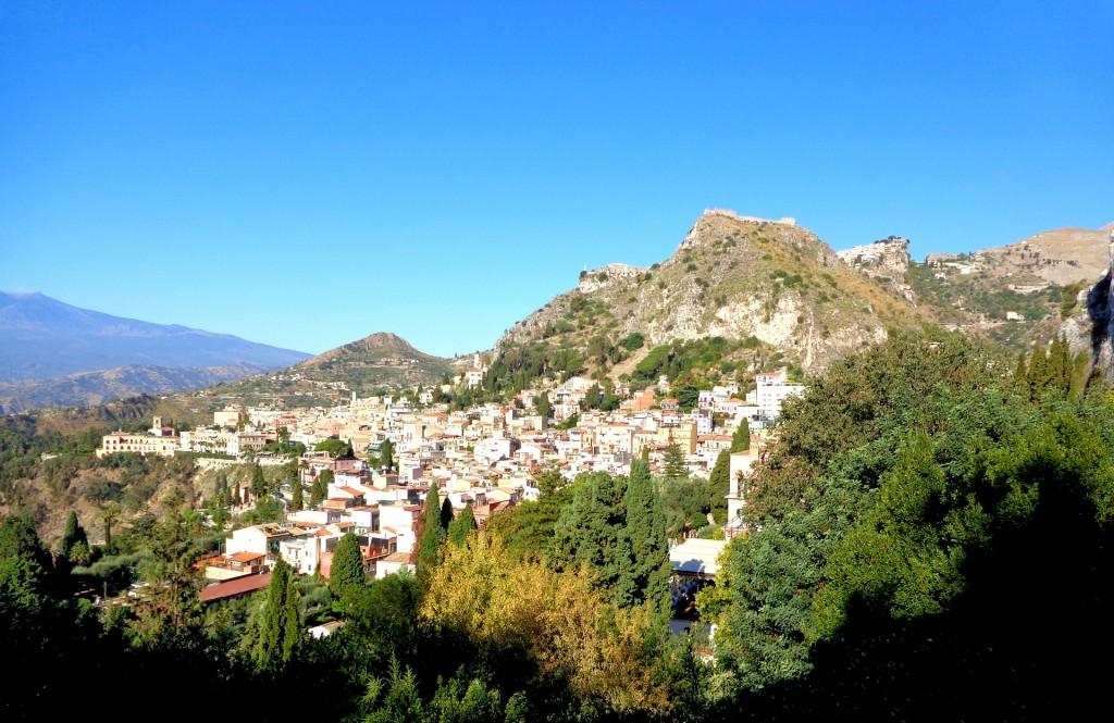 Таормина и планината Тауро