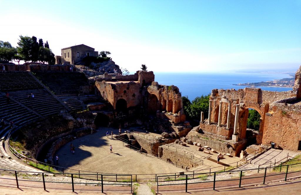 Гръцкият театър в Таормина