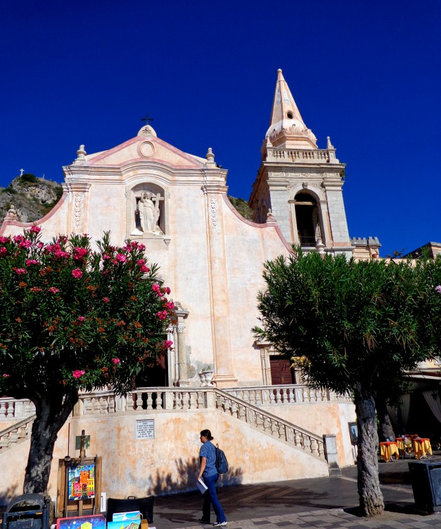 """Таормина, църквата """"Сан Джузепе"""""""