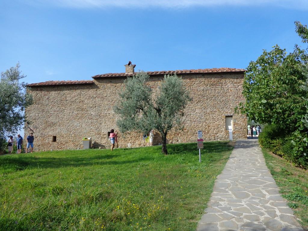 Родната къща на Леонардо да Винчи в Анкиано - 1