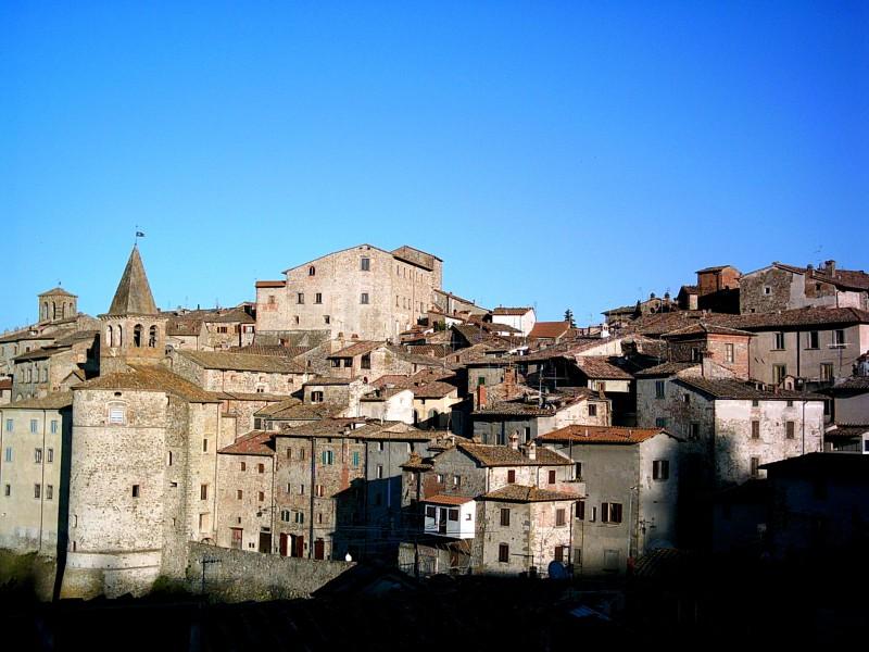 Прекрасното средновековно градче Ангиари