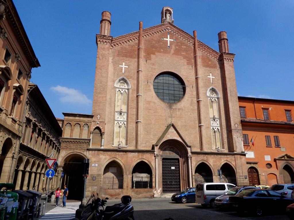 """Болоня, базиликата """"Свети Яков Велики"""""""