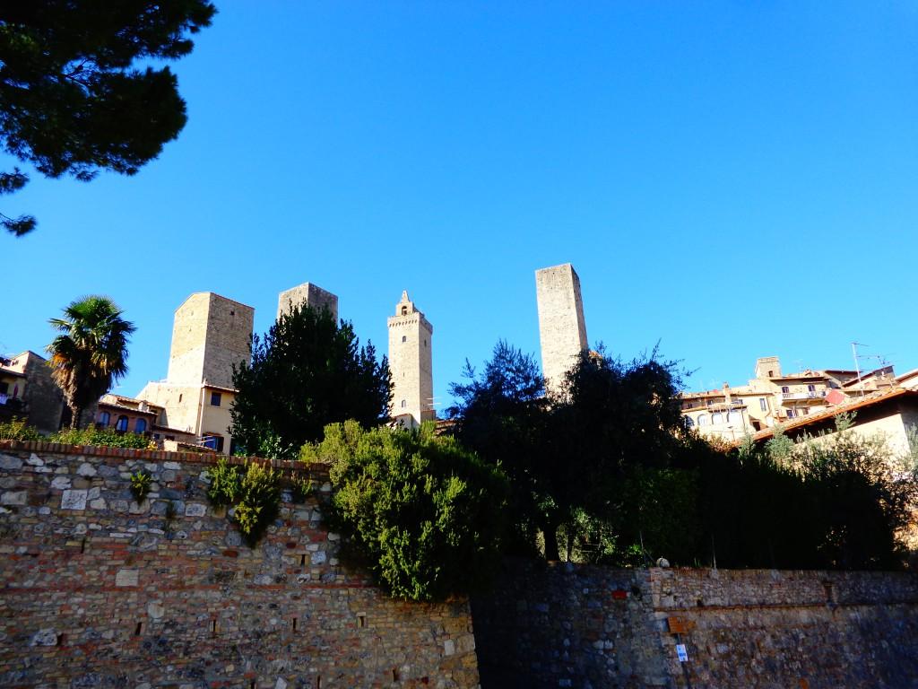 Живописното градче Сан Джиминяно