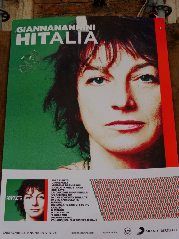 Родената в Сиена рок-дама на Италия Джана Нанини споделя, че градът ѝ е дал голяма сила